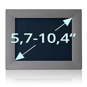 """Panel-PC mit Displays von 5,7"""" bis 10,4"""""""