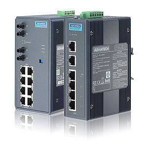 Unmanaged Ethernet Switche für die Industrie