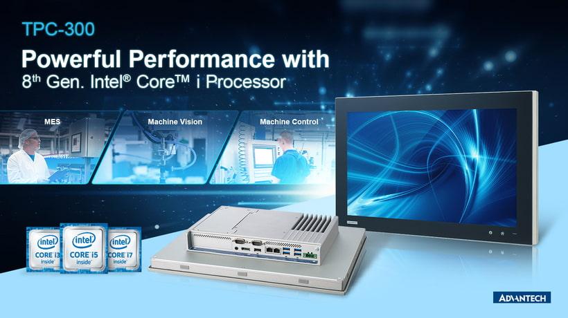 Die neuen Panel PCs der TPC-300 Serie