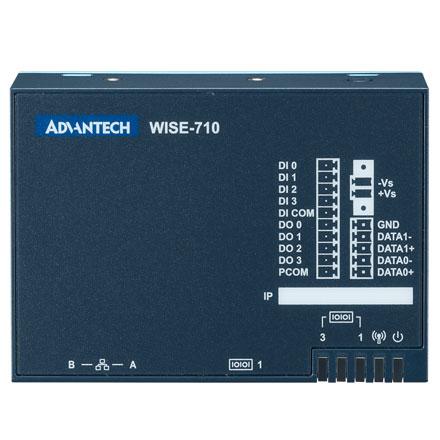 WISE-710-N600A Lüfterloser IoT Hutschienen-PC