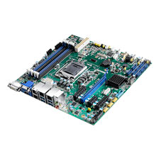ASMB-586G2 Industrielles µATX Server-Mainboard