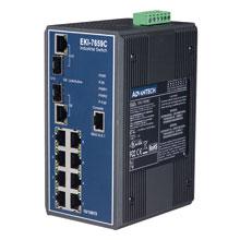 EKI-7659C Managed Fiber Optic Gigabit Switch