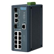 EKI-7710E-2CP Managed Fiber Optic Gigabit Switch