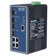EKI-7758F Managed Fiber Optic Gigabit Switch