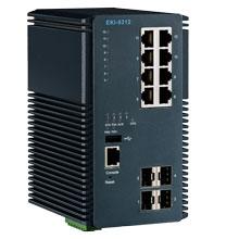 EKI-9312 Managed Fiber Optic Gigabit Switch