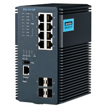 EKI-9312P Managed Fiber Optic Gigabit PoE Switch