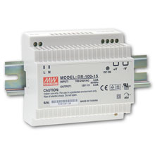 Netzteil Hutschiene 100W - 88~264VAC/12VDC