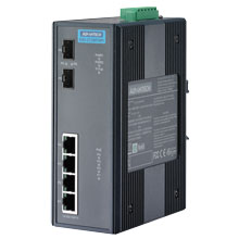 EKI-2726FHPI Unmanaged Fiber Optic Gigabit Switch