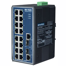 EKI-7626C Unmanaged Fiber Optic Gigabit Switch