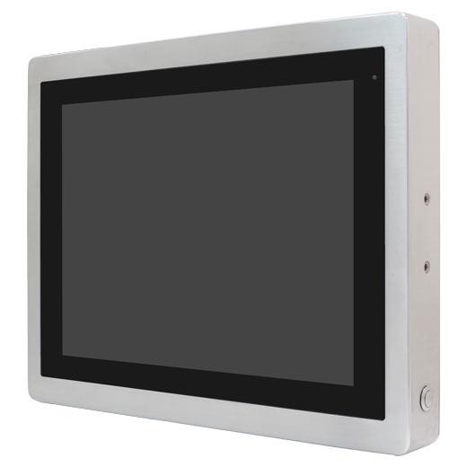 ViTAM-812P athletec Edelstahl Panel Computer