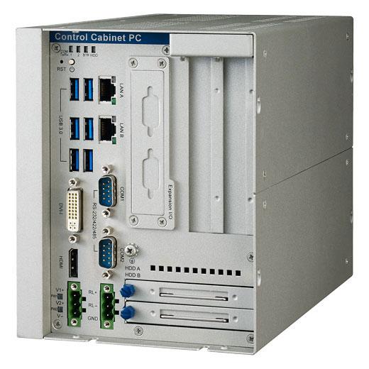 UNO-3283G-674AE Lüfterloser Schaltschrank-PC