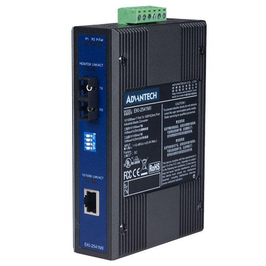 EKI-2541MI Ethernet zu FiberOptic Converter