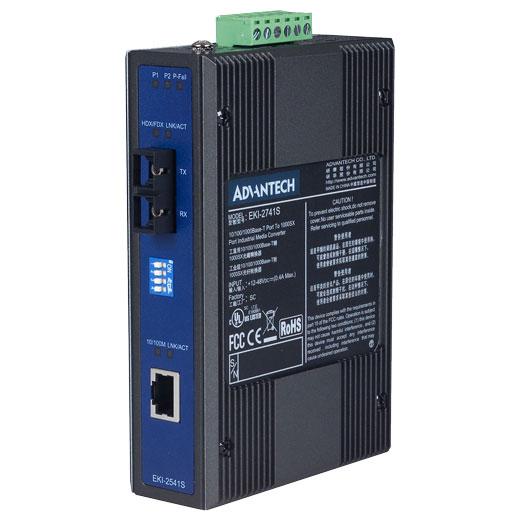 EKI-2541S Ethernet zu FiberOptic Converter
