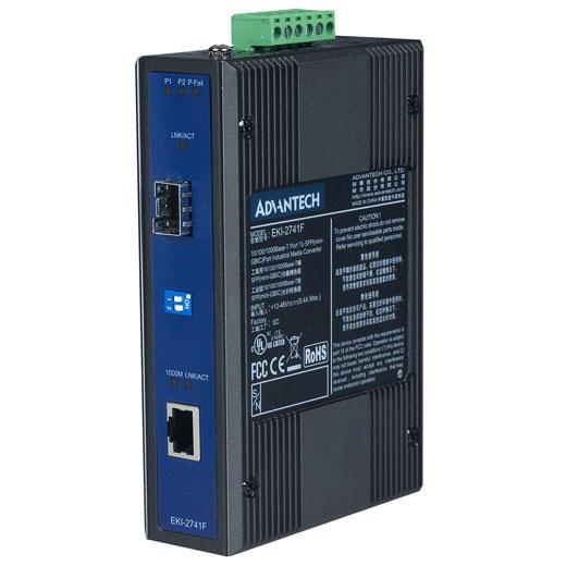 EKI-2741F Gigabit Ethernet zu FiberOptic Converter