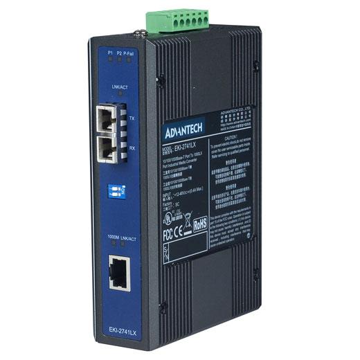 EKI-2741LX Gigabit Ethernet - FiberOptic Converter
