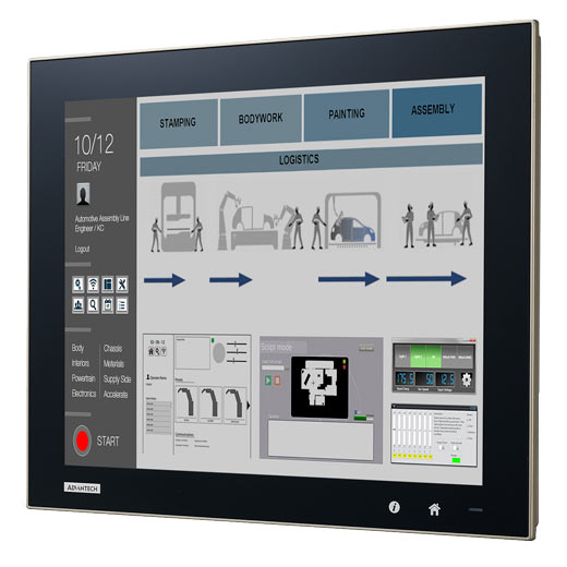 FPM-D15T-BE Flat Panel Display Modul