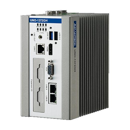 UNO-1372GH-E3AE Lüfterloser Hutschienen-PC