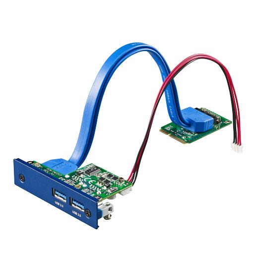PCM-24U2U3 iDoor Interface-Modul für Industrie-PCs