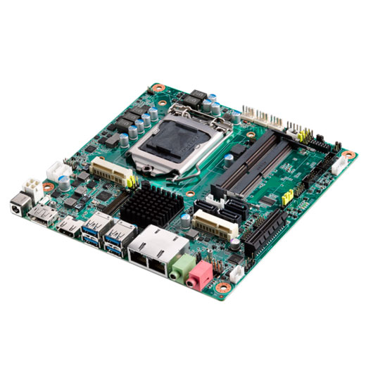 AIMB-285G2 Industrielles Mini-ITX-Mainboard