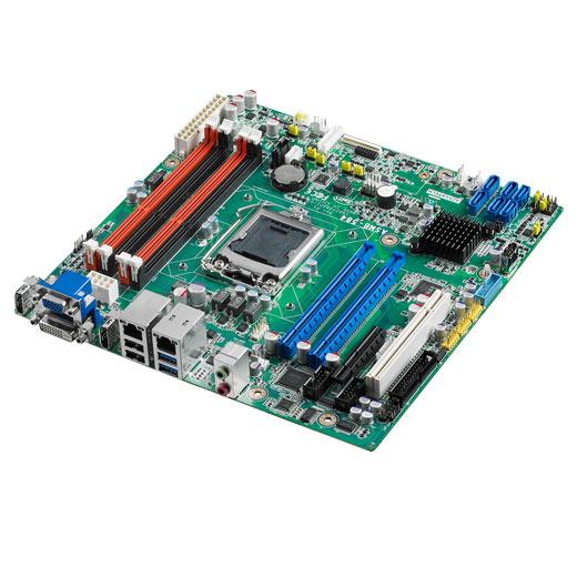 ASMB-584G2 Industrielles µATX Server-Mainboard