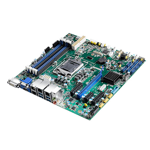 ASMB-586G4 Industrielles µATX Server-Mainboard