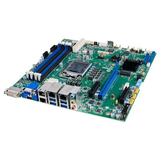 ASMB-587G4 Industrielles µATX Server-Mainboard