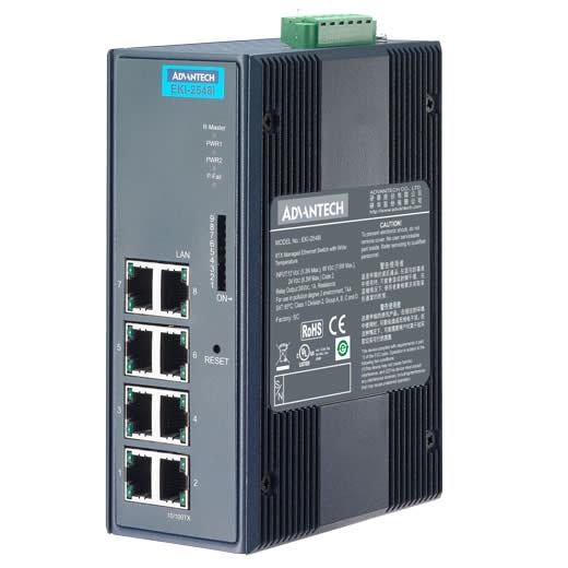 EKI-2548I Managed Ethernet Switch