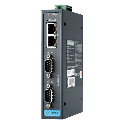 EKI-1222 Modbus Gateway