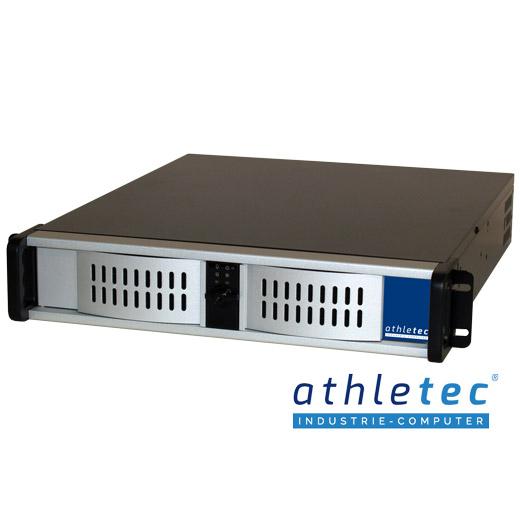 athletec Rackmount-PC Gehäuse 2HE