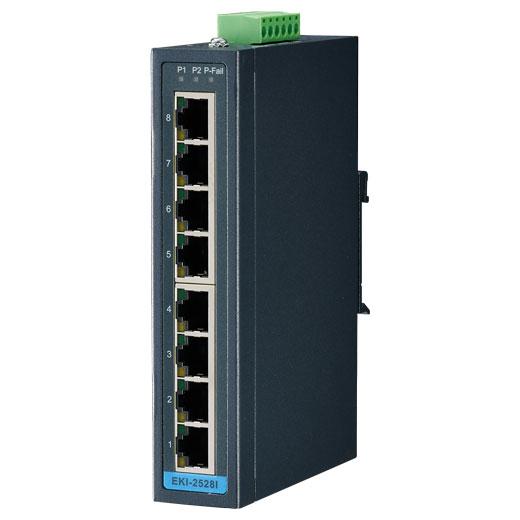 EKI-2528I Unmanaged Ethernet Switch