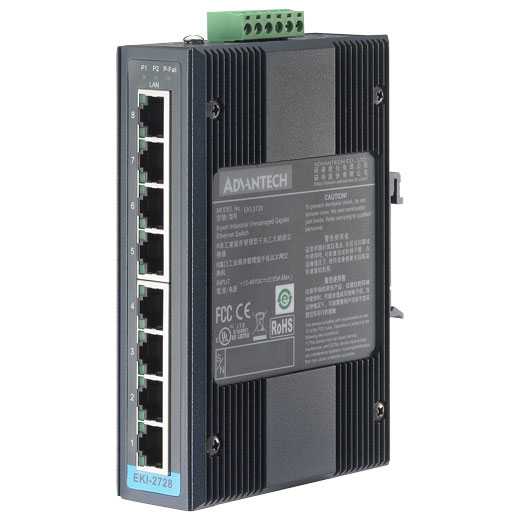 EKI-2728 Unmanaged Gigabit Switch