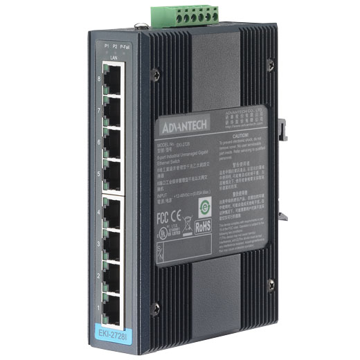EKI-2728I Unmanaged Gigabit Switch